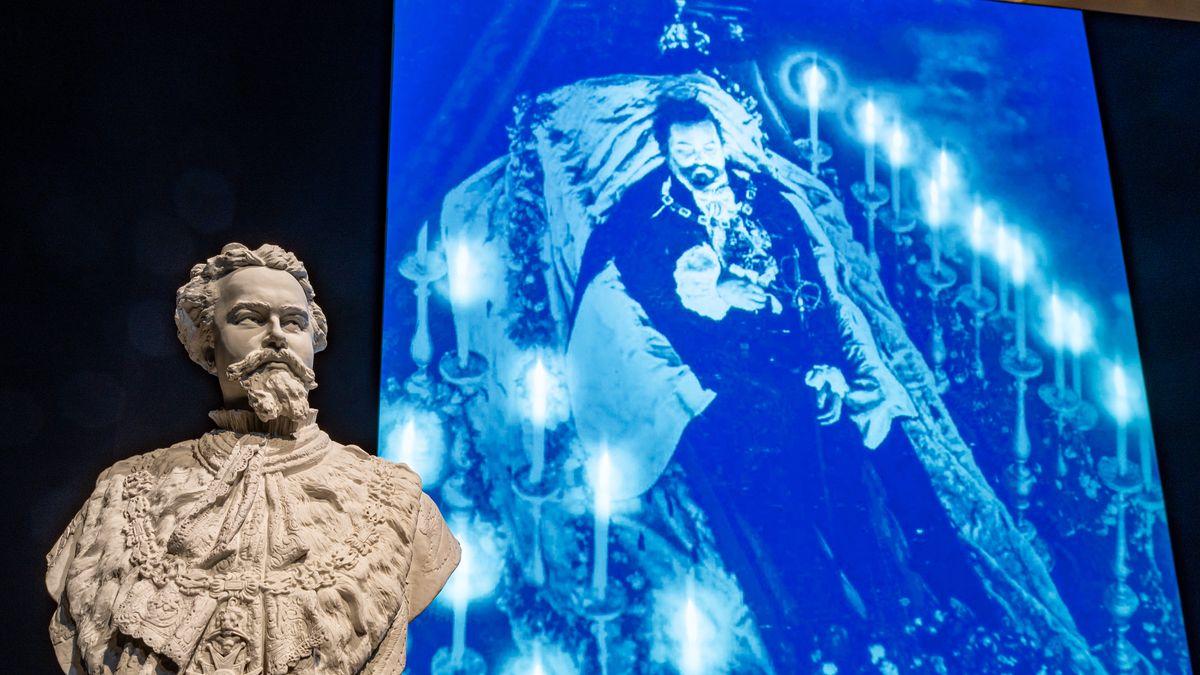 """Die Bayerische Landesausstellung """"Götterdämmerung II"""" beginnt mit dem Tod des Märchenkönigs Ludwig II."""