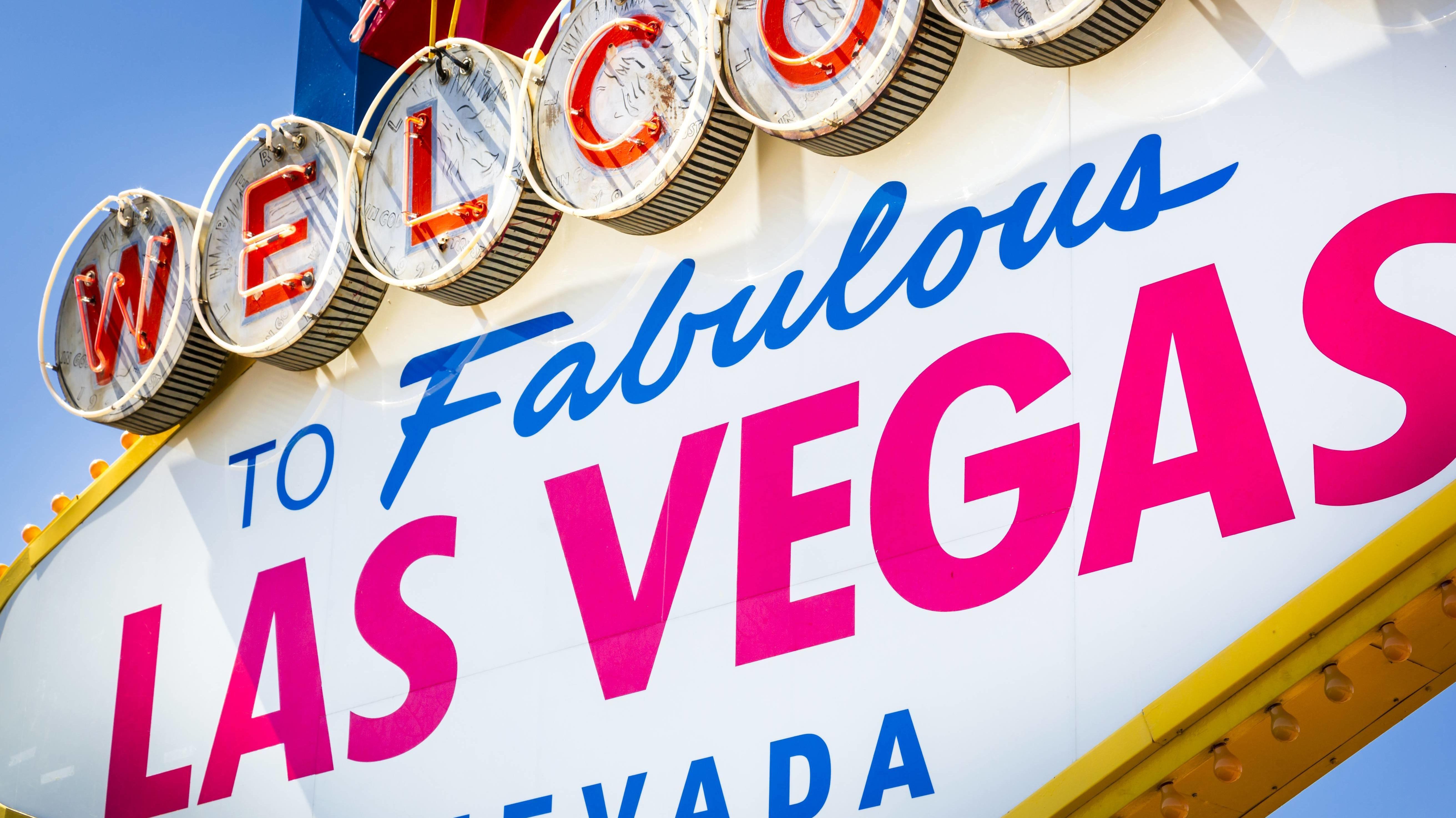 Neonreklame in Las Vegas