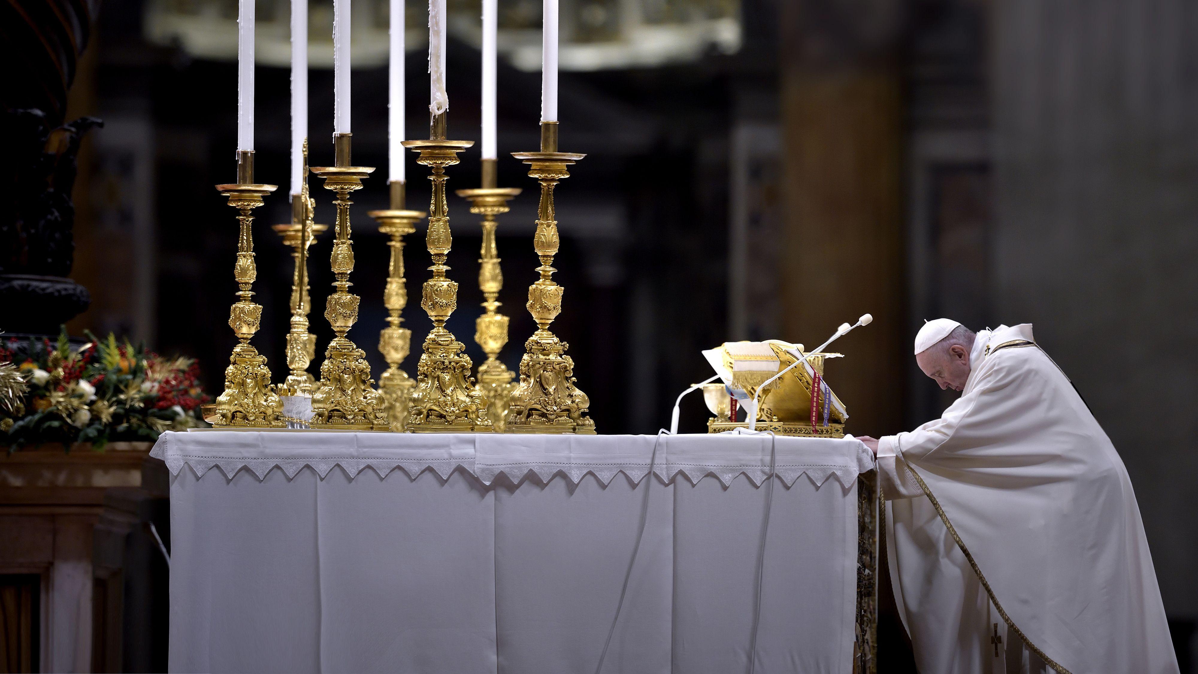 Christmette in Rom - Papst Franzikus