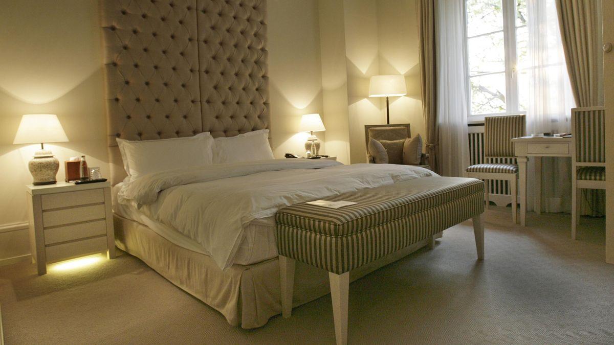 Hotelzimmer.