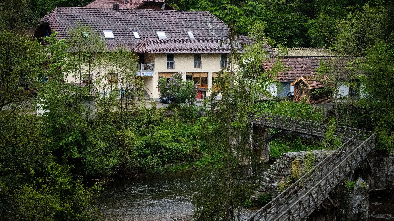 Der Tatort bei Passau