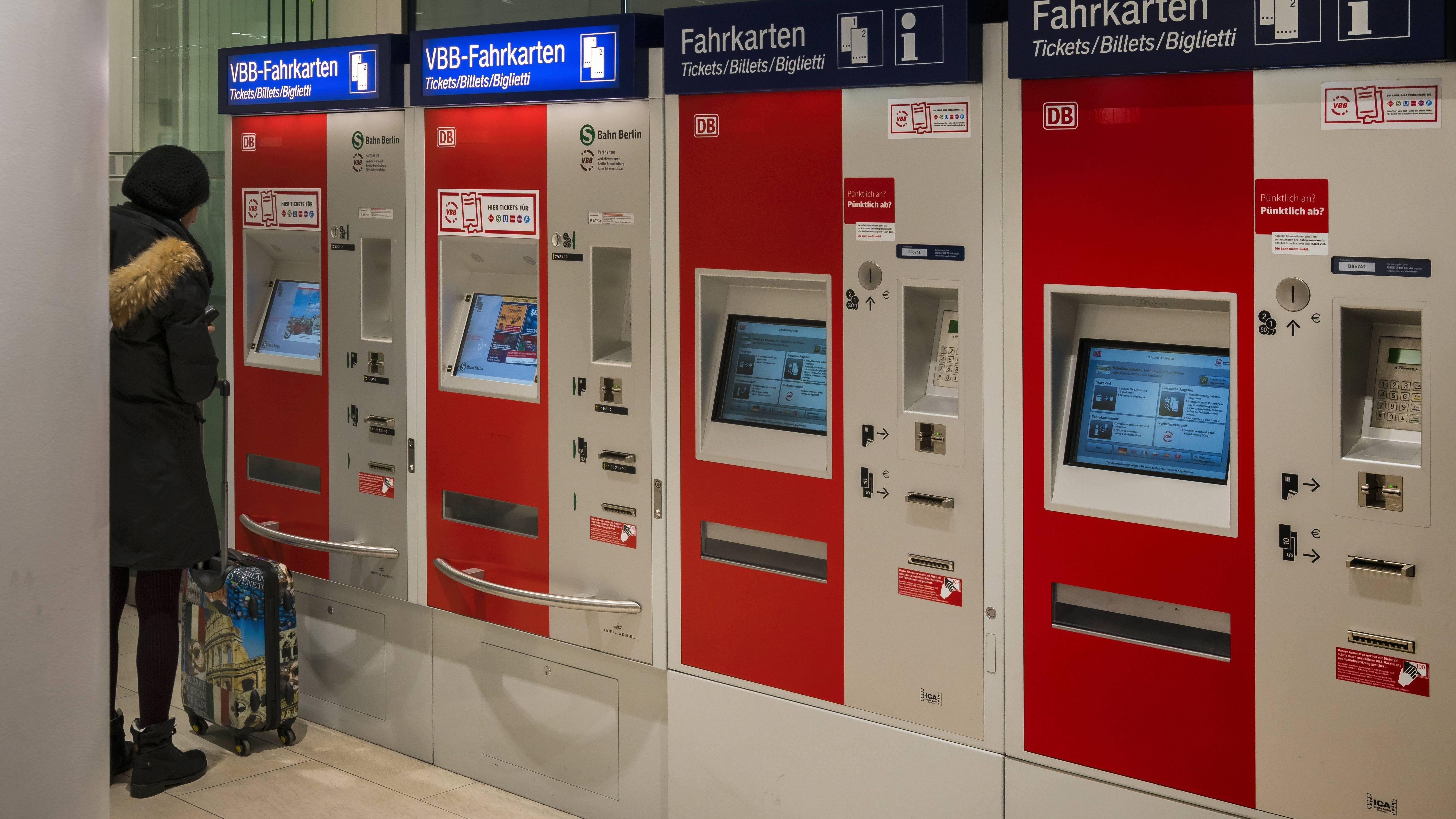 DB-Ticketautomat