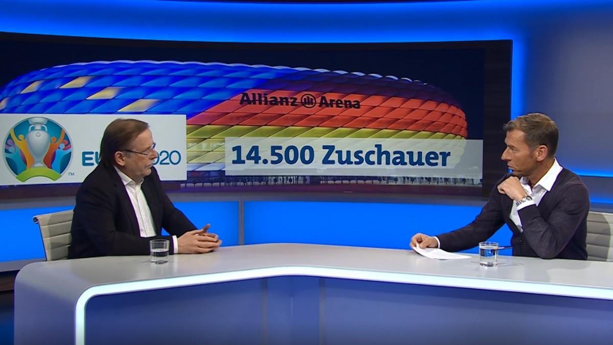 DFB-Vizepräsident Rainer Koch im Gespräch mit Moderator Markus Othmer.