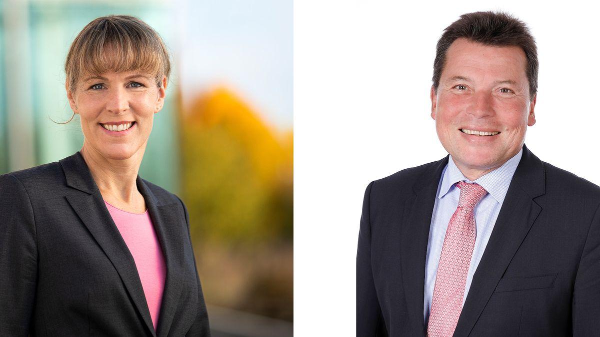 Harald Fichtner (CSU) muss in der Stichwahl gegen Eva Döhla von der SPD antreten