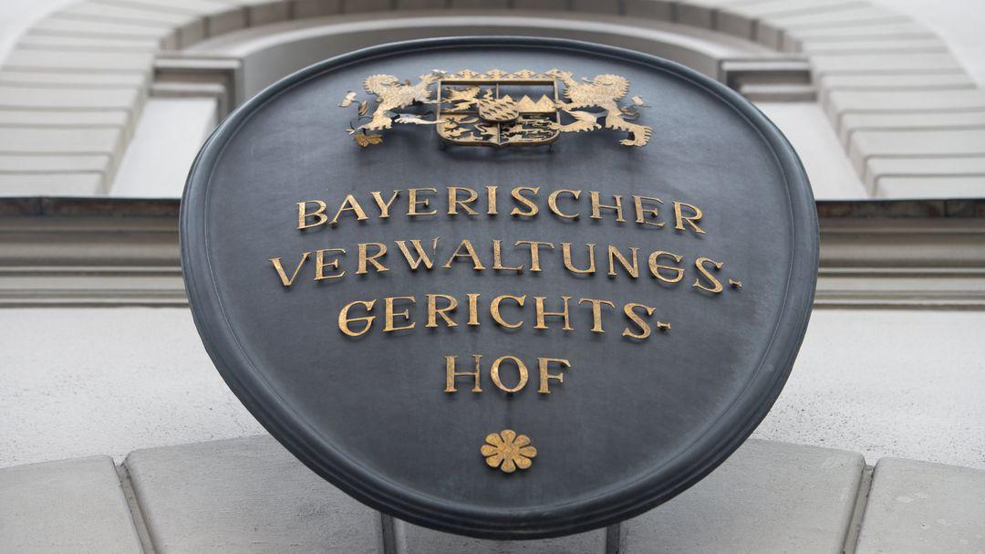 Bayerischer Verwaltungsgerichtshof (Symbolbild)
