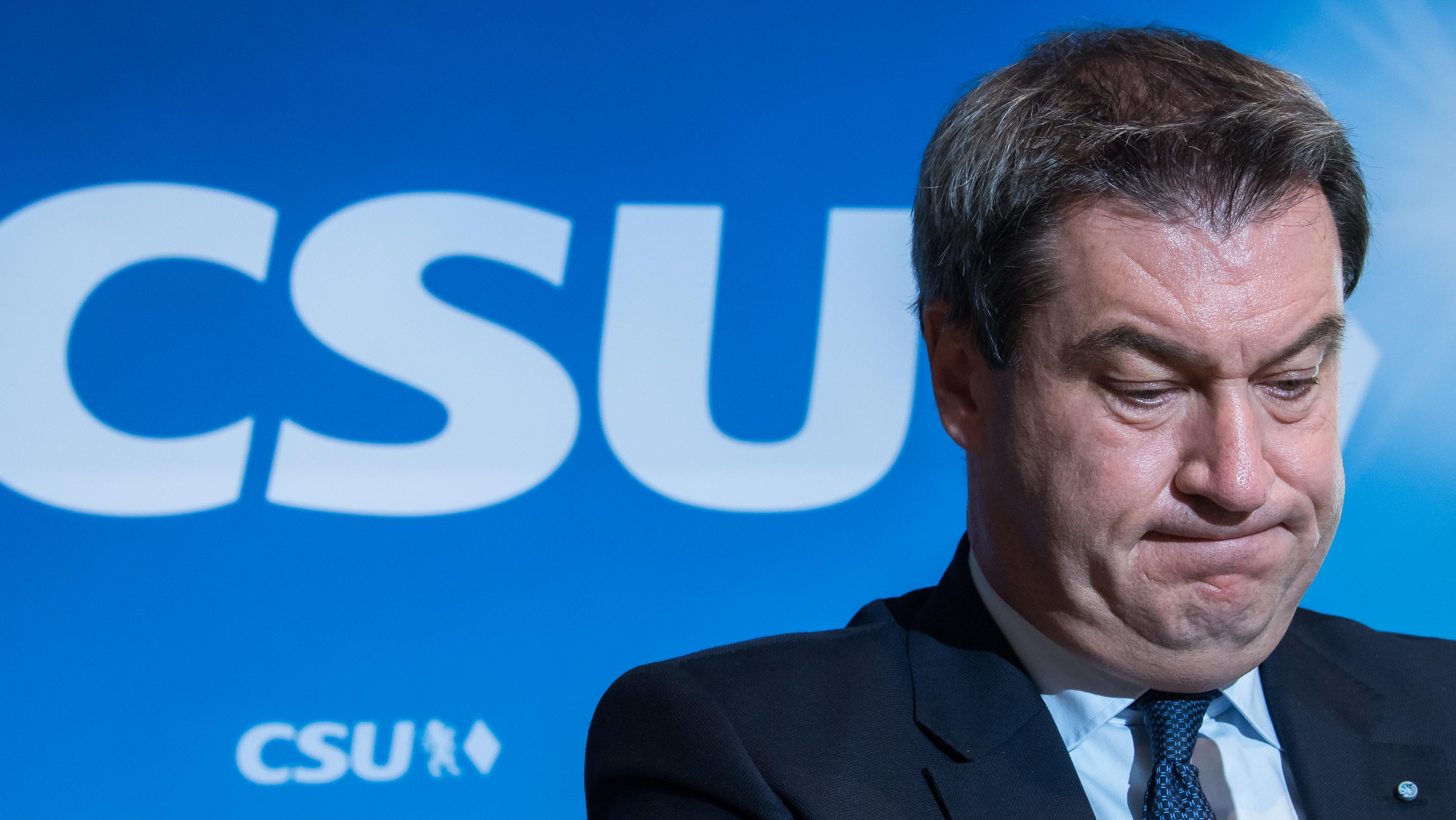 Kontrovers-BayernTrend Nur noch 42 Prozent der Wähler in Bayern halten Markus Söder für einen guten Ministerpräsidenten, 44 Prozent sehen ihn kritisch