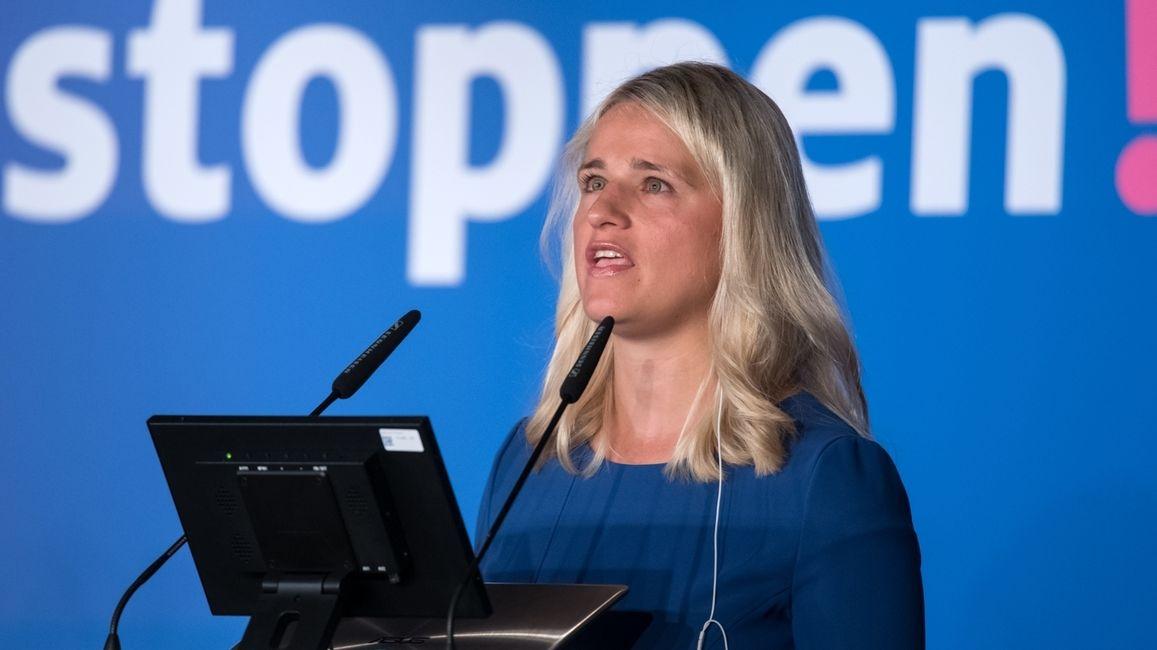 VdK-Päsidentin Verena Bentele