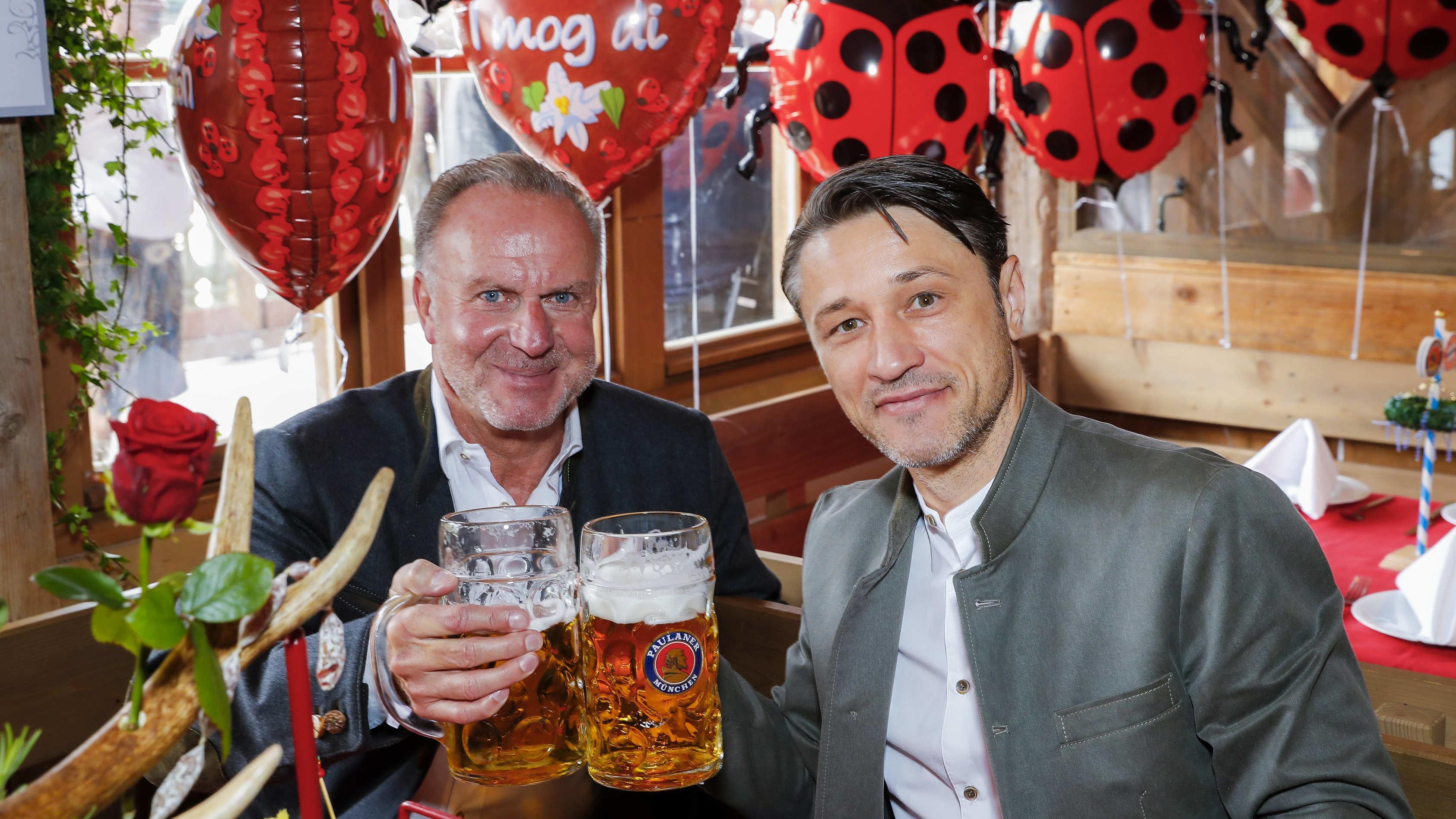 Karl-Heinz Rummenigge und Niko Kovac