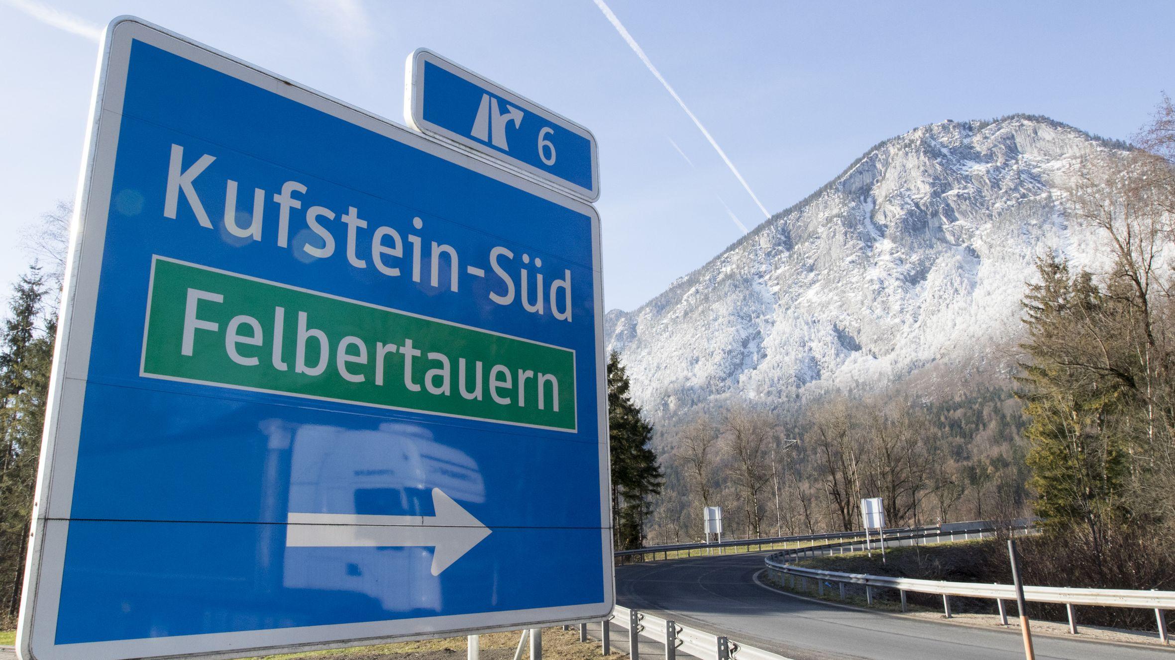 Autobahnausfahrt Kufstein Süd