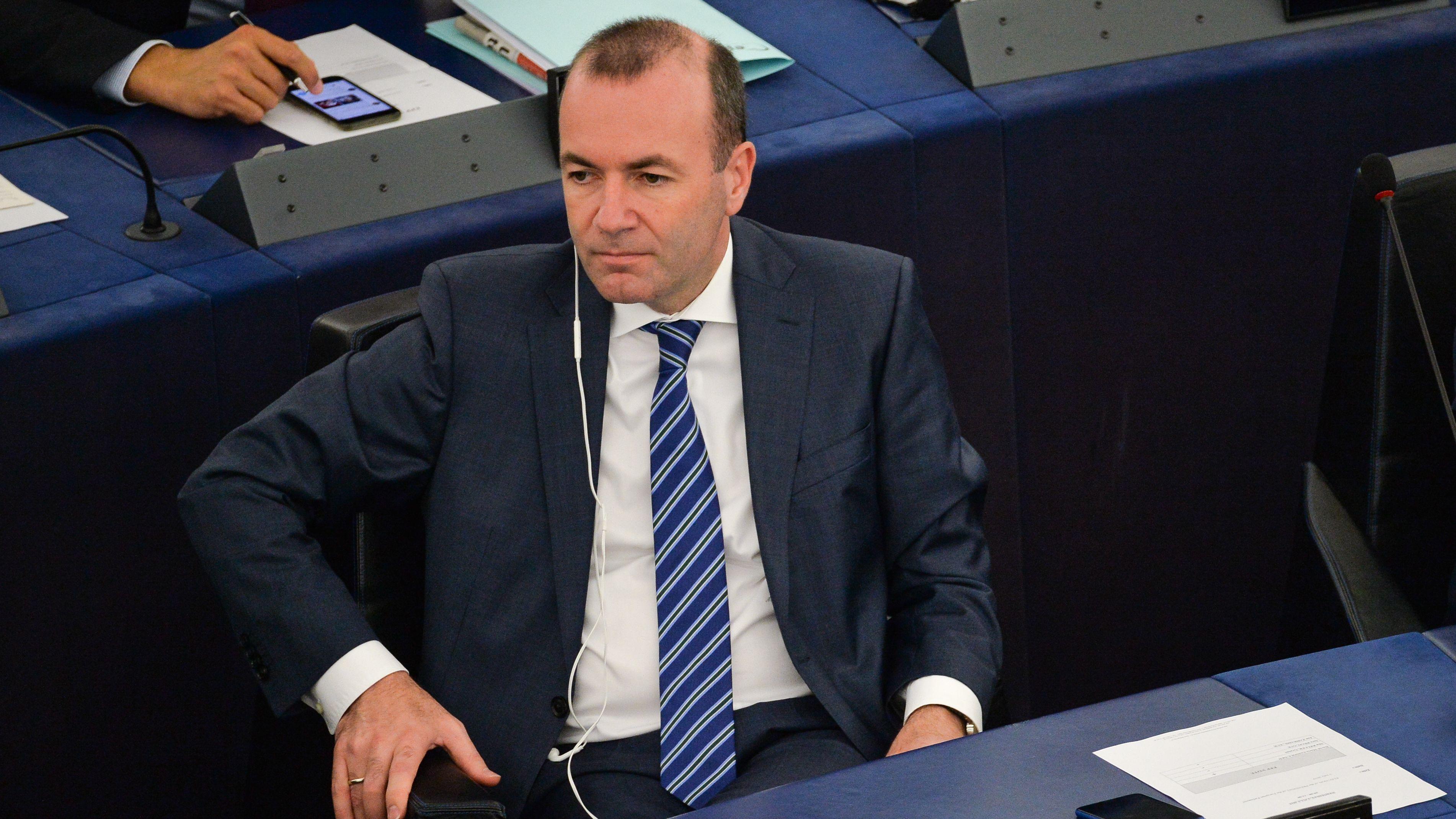 Manfred Weber sitzt im Europaparlament