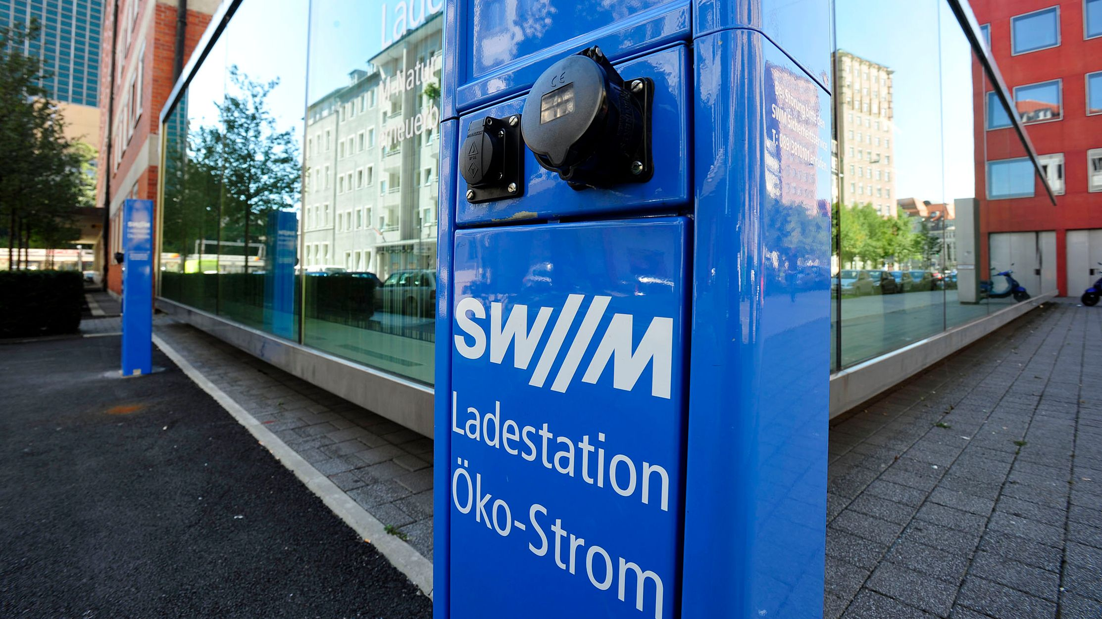 E-Ladestation in München