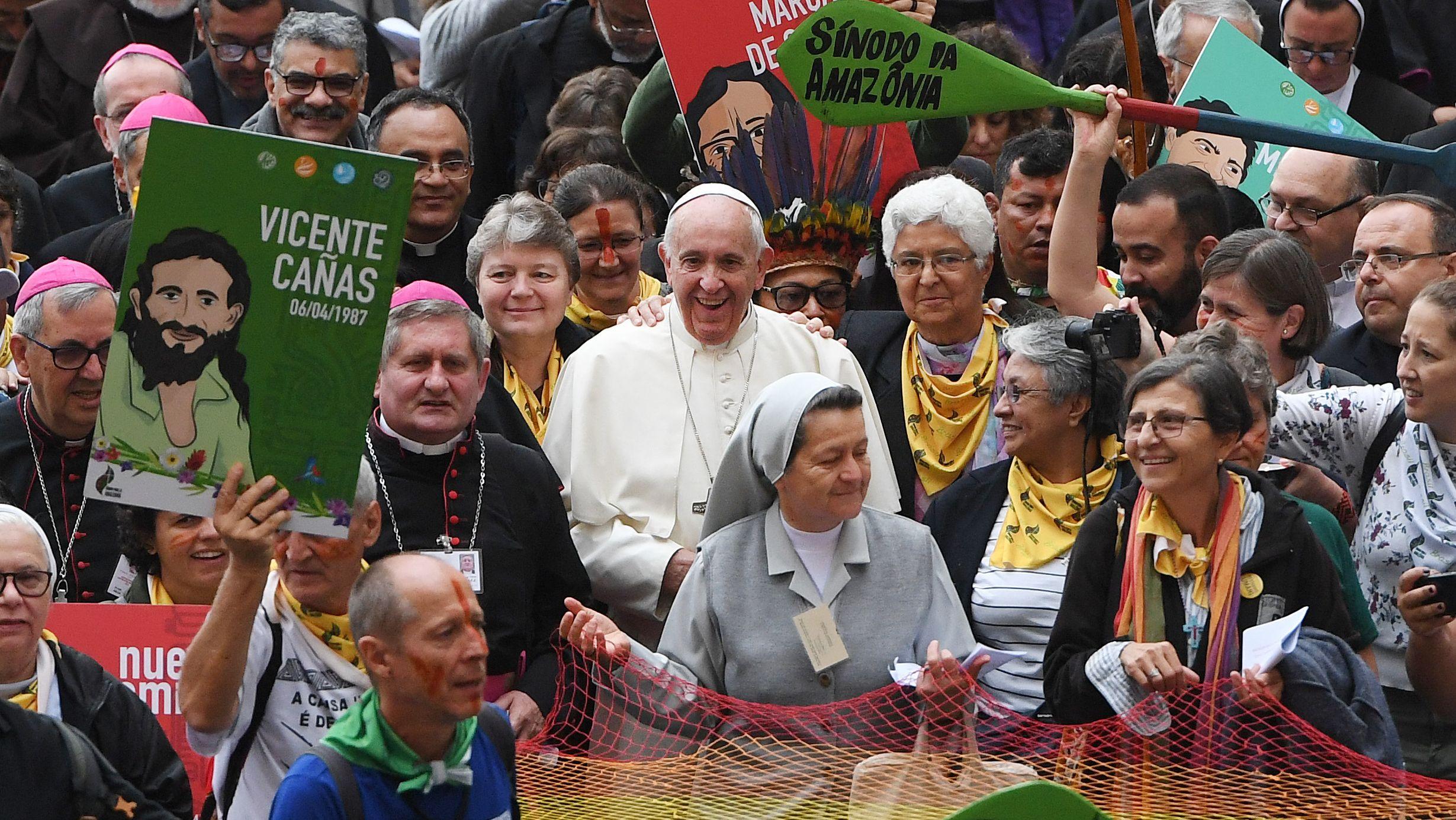 Eröffnung der Amazonas-Synode in Rom