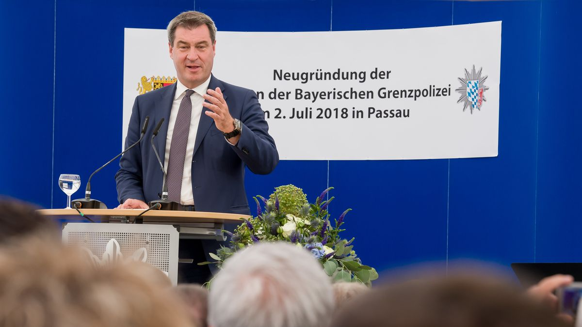 Neugründung der Bayerischen Grenzpolizei 2018.