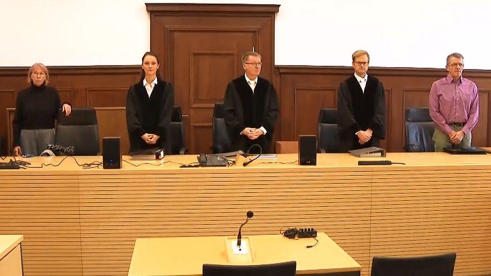 Prozess am Landgericht Nürnberg-Fürth
