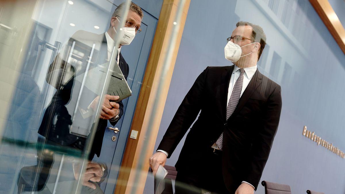 Bundesgesundheitsminister Spahn warnt vor einer Überlastung des Gesundheitssystems.
