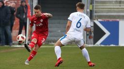Zweikampf im Spiel Würzburg gegen Lotte   Bild:imago/foto2press