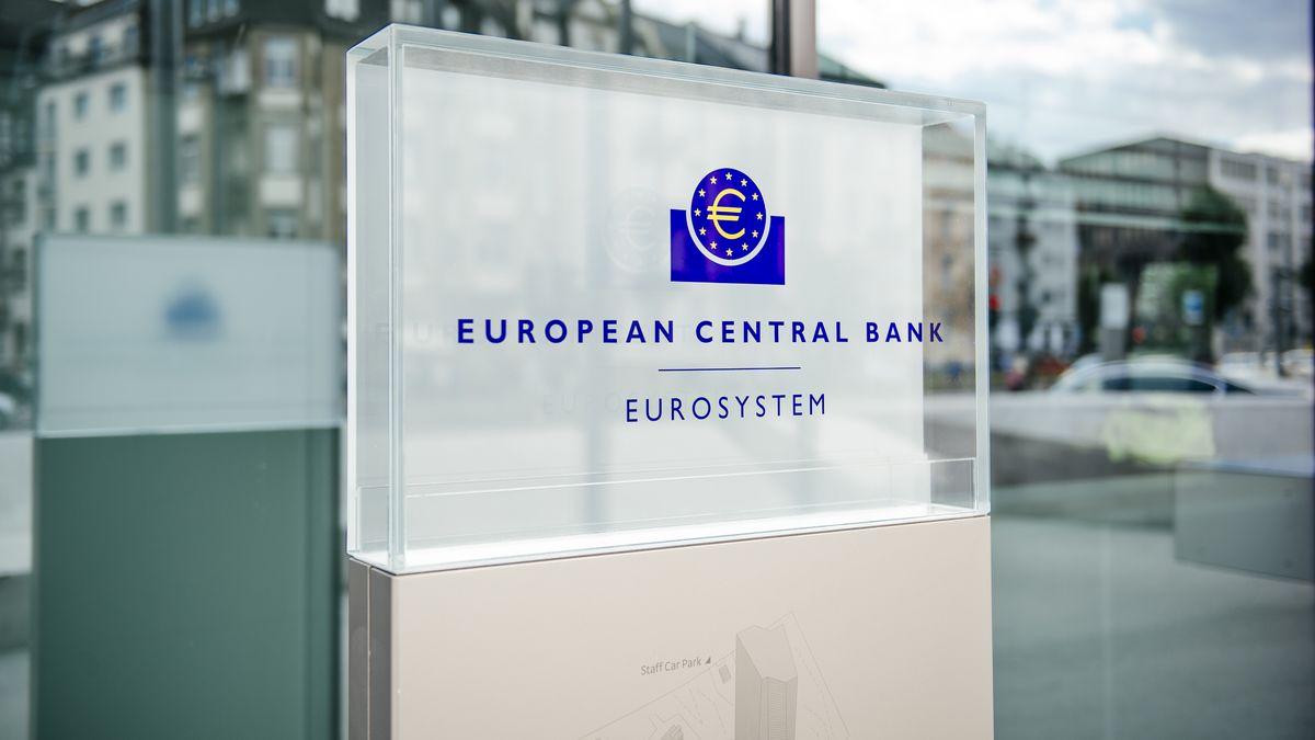 EZB - europäische Zentralbank in Frankfurt