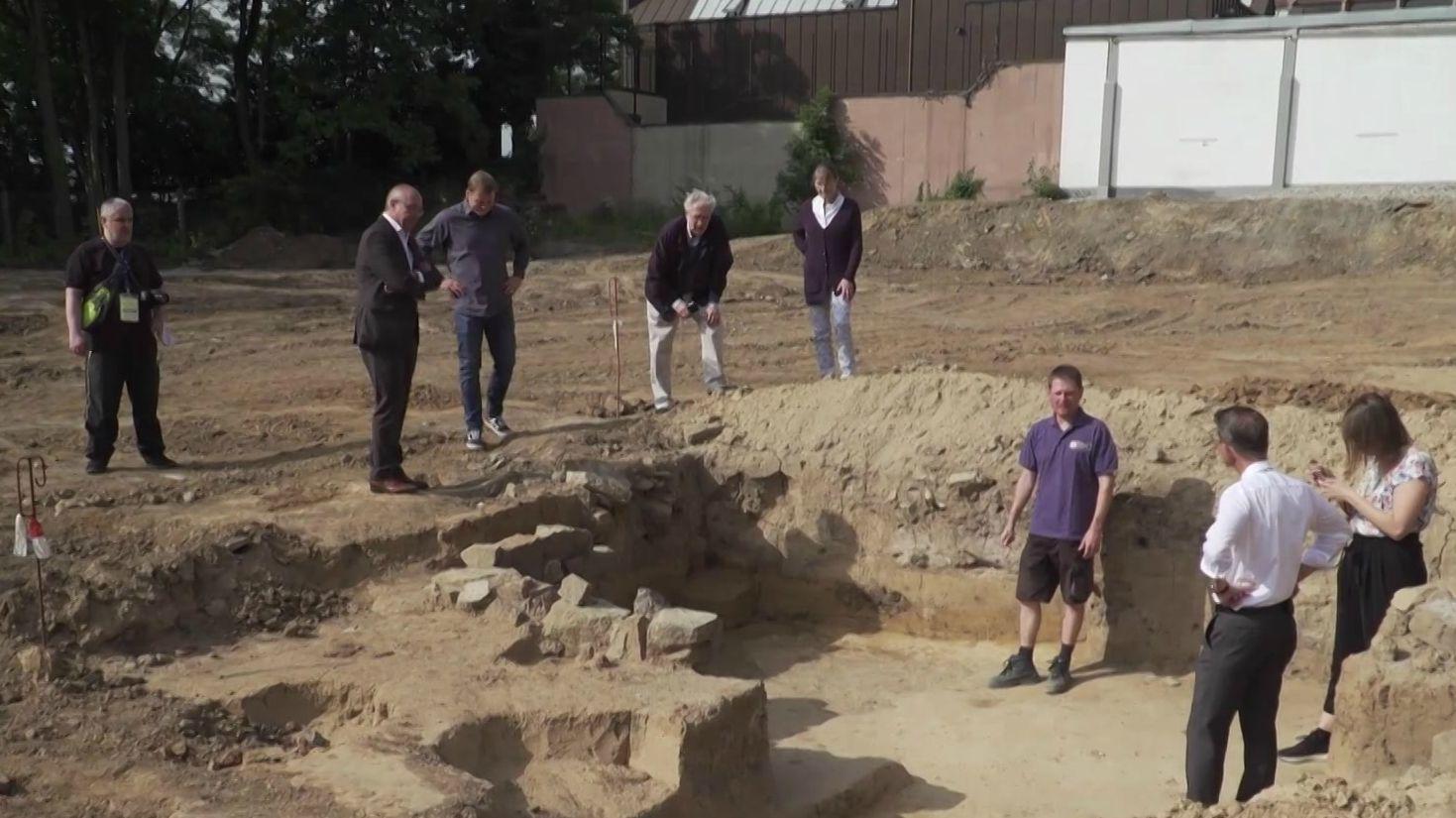 Ausgrabungen in Schweinfurt