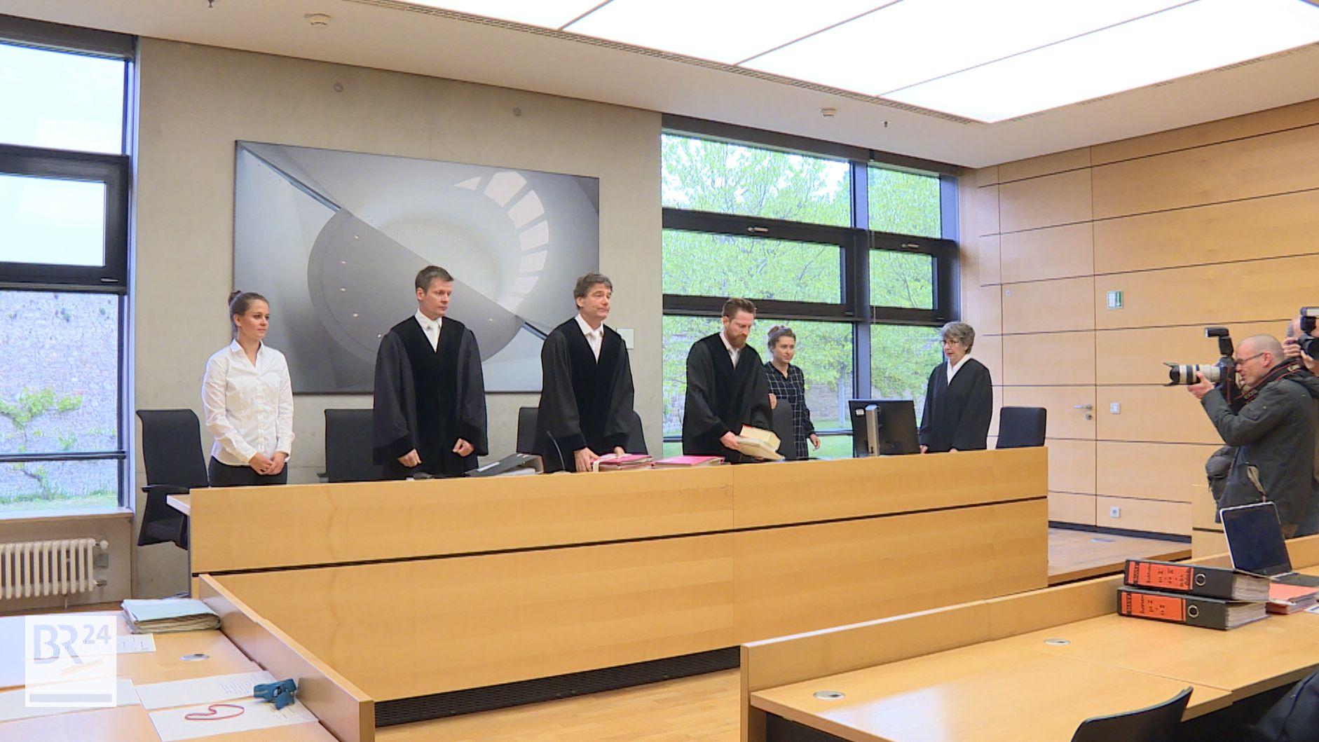 Prozess gegen Elmar Borrmann wegen schweren Betrugs am Landgericht Würzburg