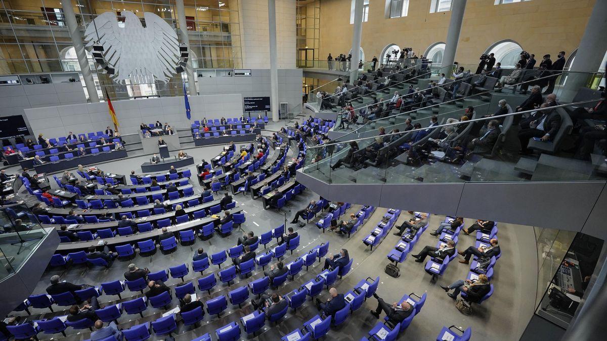 Das Bundestagsplenum