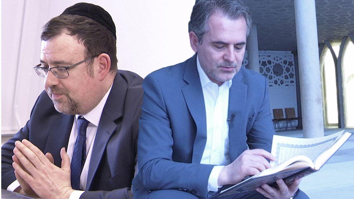 Rabbiner Elias Dray und Imam Benjamin Idriz