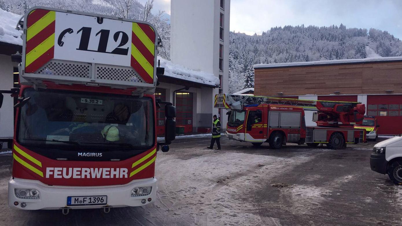 Die Feuerwehr München im Einsatz in Berchtesgaden