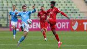 Spielszene Türkgücü gegen TSV 1860 München