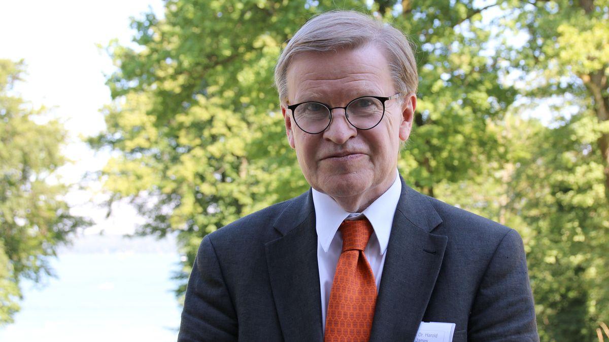Wirtschaftshistoriker Professor Harold James