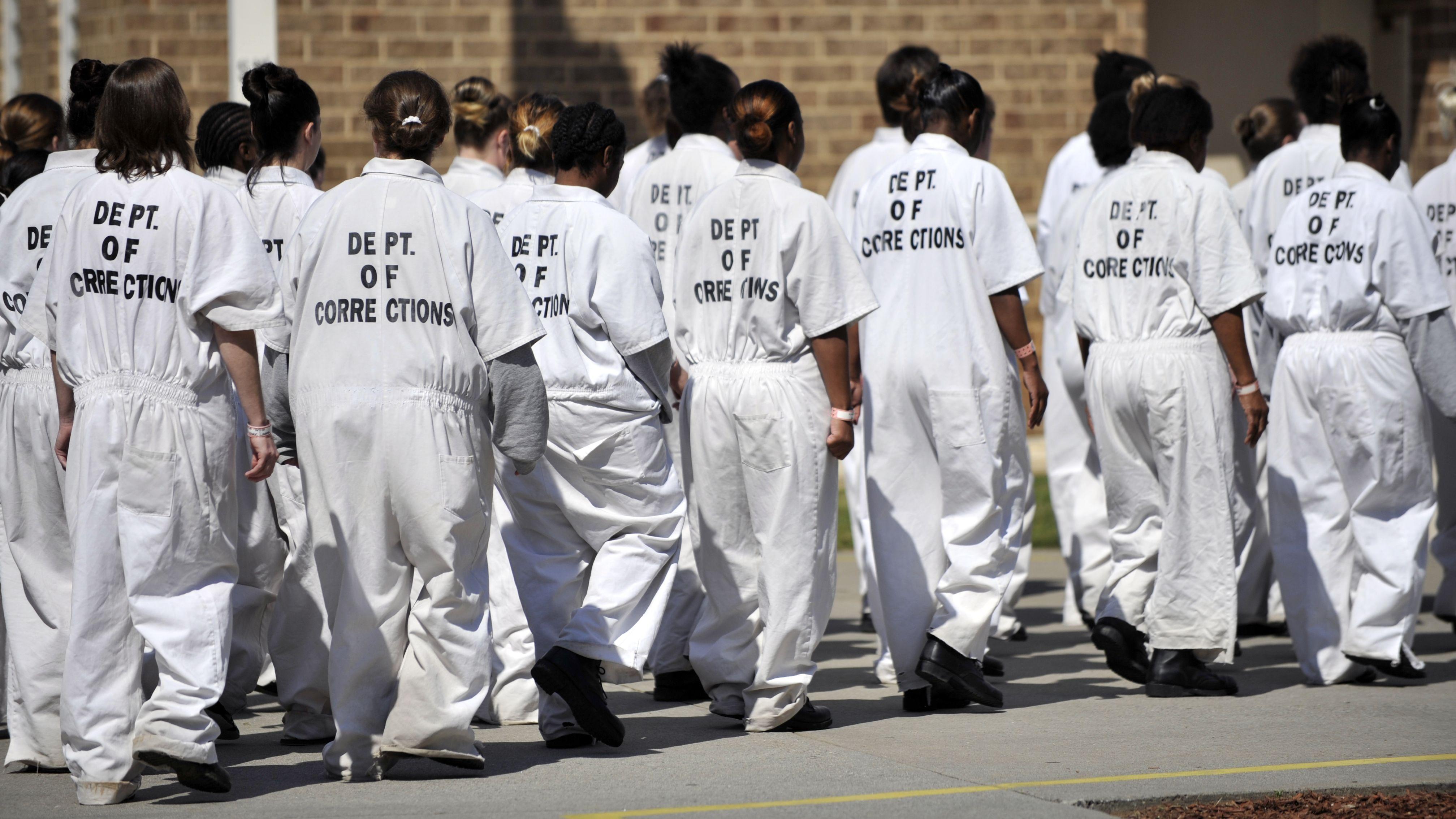 Frauen hinter Gittern: Metro State Prison in Atlanta, Georgia