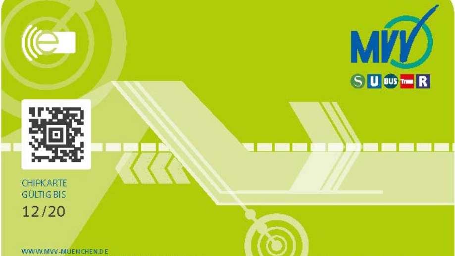 Chipkarte für MVV-Abokunden