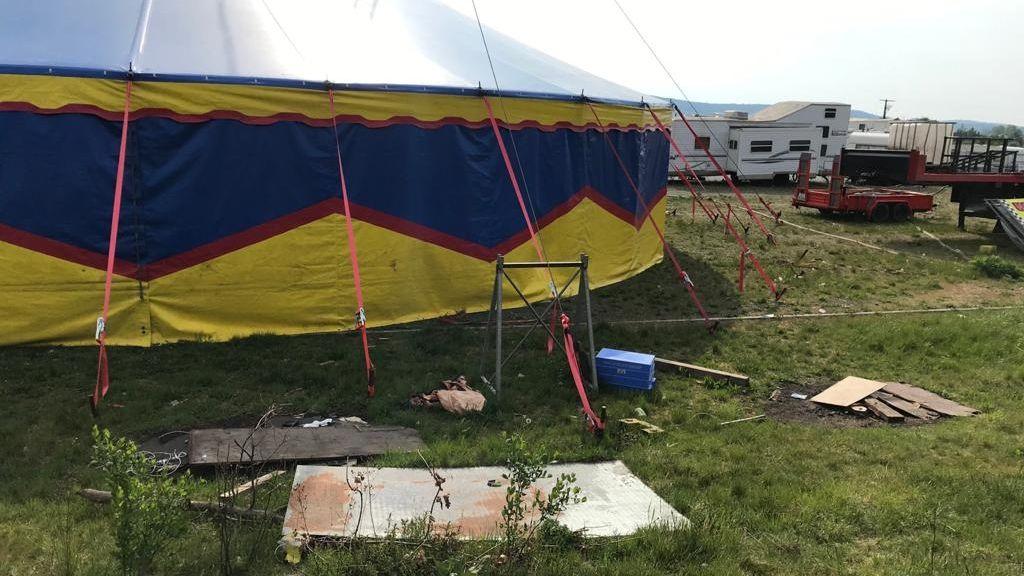 Zirkus in Weiden.