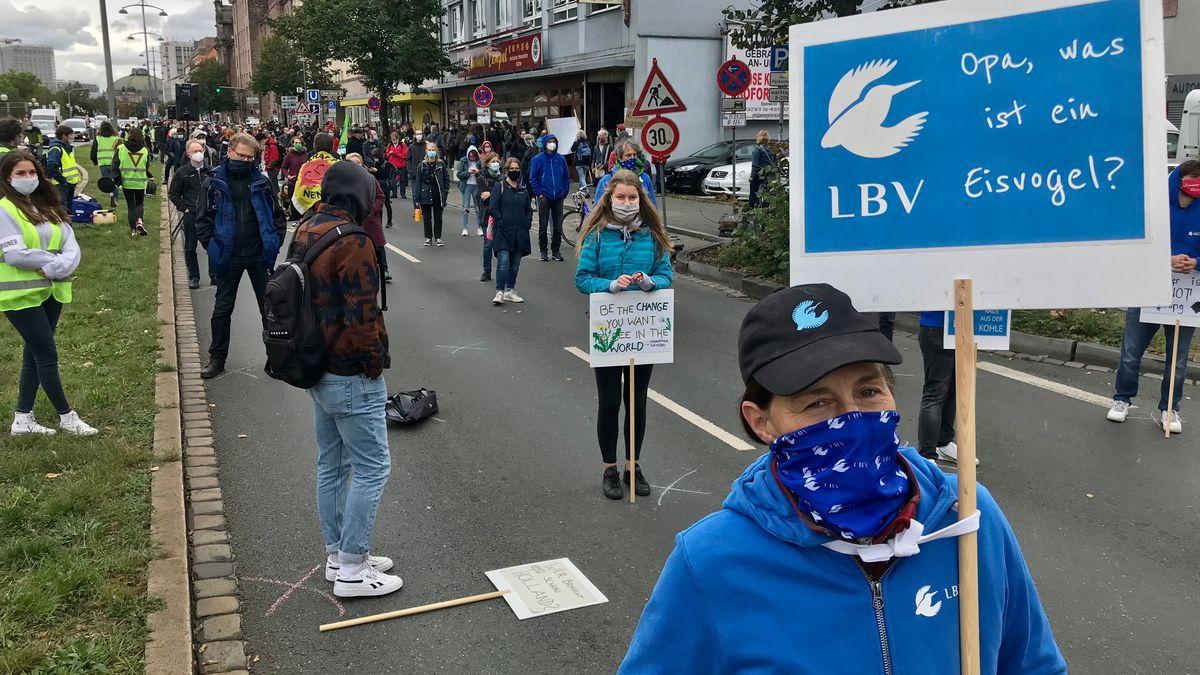 Demonstranten fordern mehr Klimaschutz