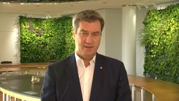Ministerpräsident Söder   Bild:BR/ARD
