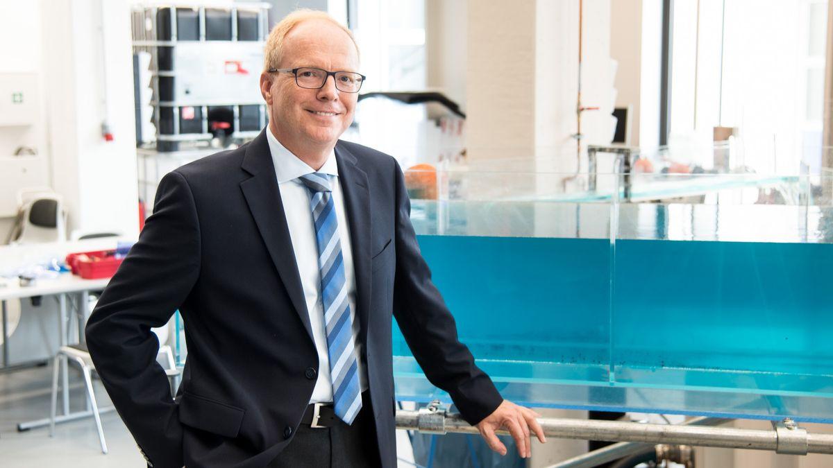 Prof. Helmut Grüning ist Institutsleiter für Wasser, Umwelt und Infrastruktur an der FH Münster.
