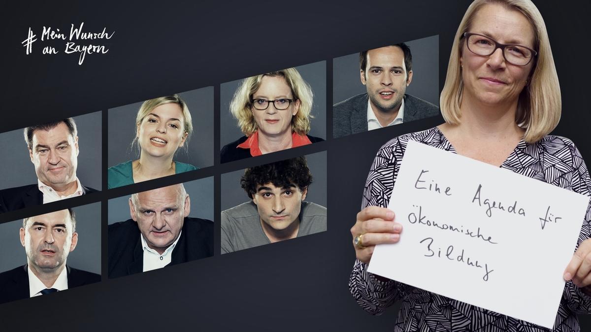 Christine Bortenlänger bei #MeinWunschAnBayern