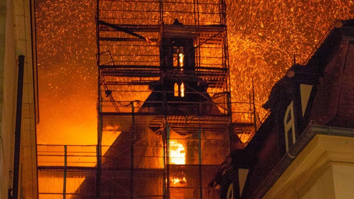 Kirchenbrand St. Martha Nürnberg