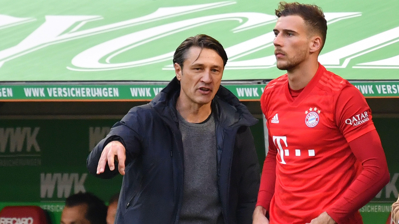 FC Bayern-Trainer Niko Kovac wechselt Leon Goretzka ein.