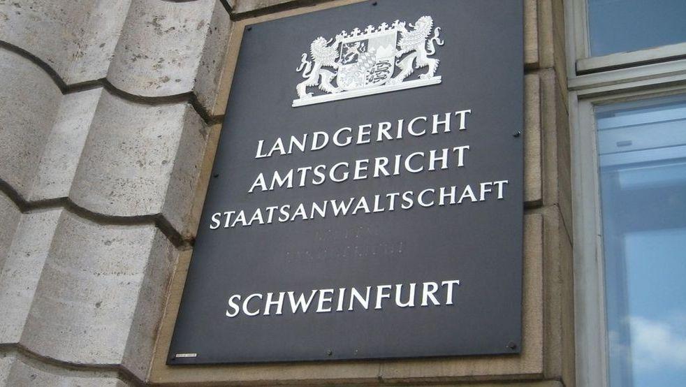 Eingang Staatsanwaltschaft Schweinfurt