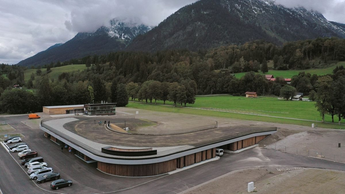 WM-Langlaufstadion in Oberstdorf