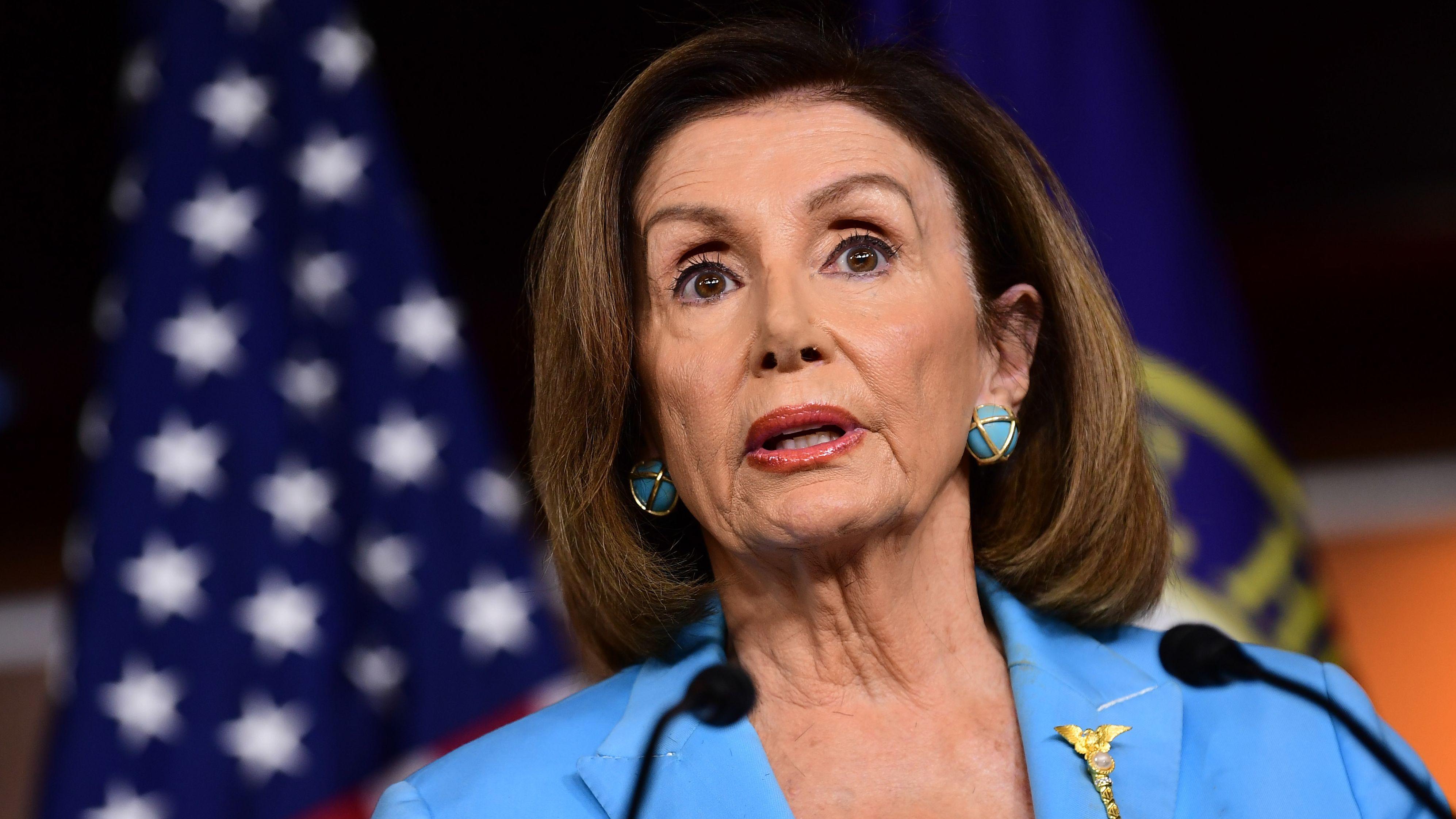 Die mächtige Demokratin und die Sprecherin der Parlamentskammer, Nancy Pelosi