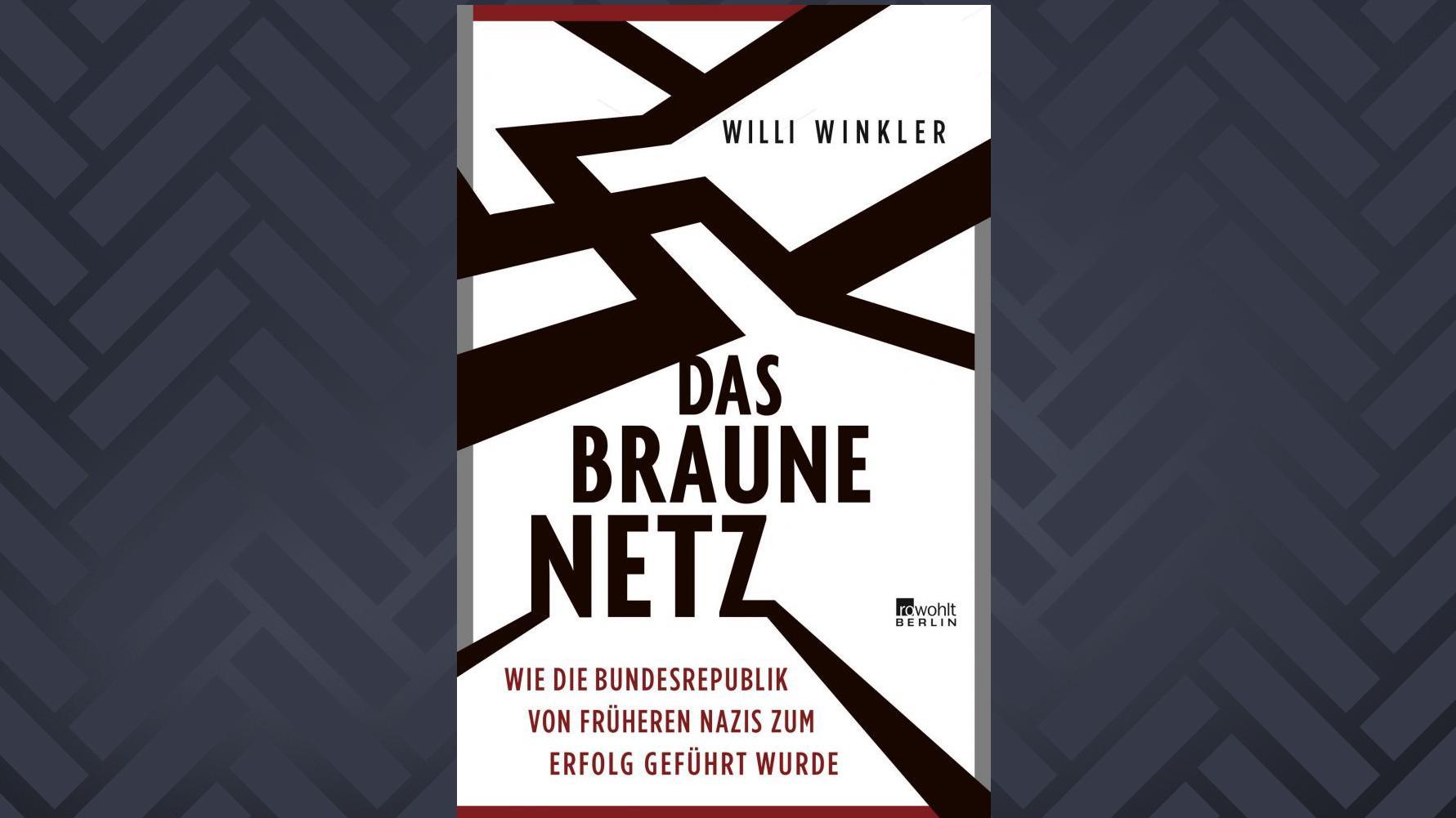 """Cover: """"Das braune Netz"""" von Willi Winkler"""