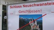 Schloss Neuschwanstein bleibt während der Corona-Krise für Besucher geschlossen | Bild:BR / dpa-bildfunk
