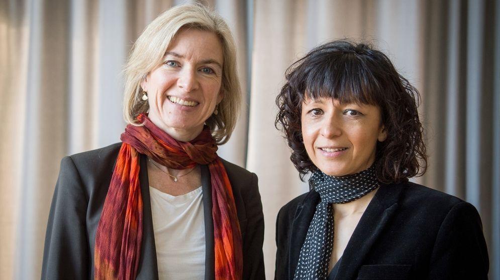 Chemie-Nobelpreisträgerinnen 2020 - die Französin Emmanuelle Charpentier und die US-Amerikanerin Jennifer Doudna