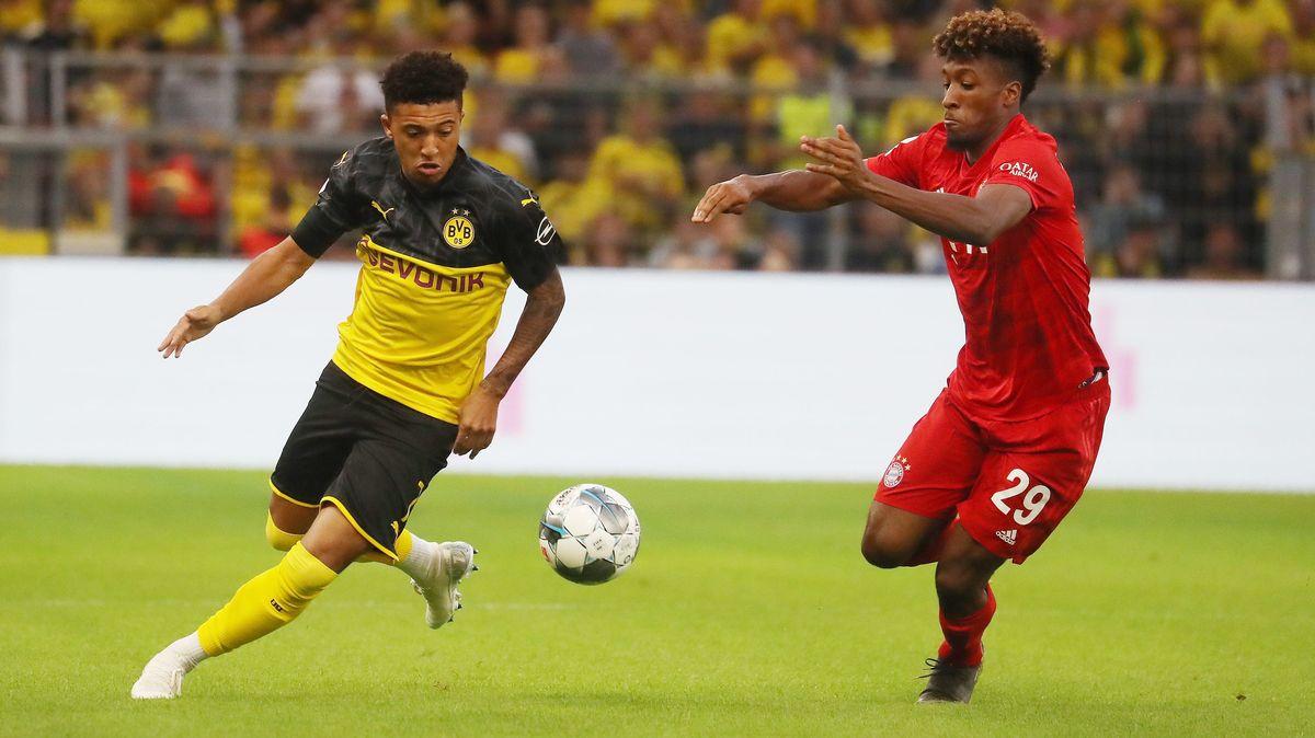 Spielszene FC Bayern München - Borussia Dortmund