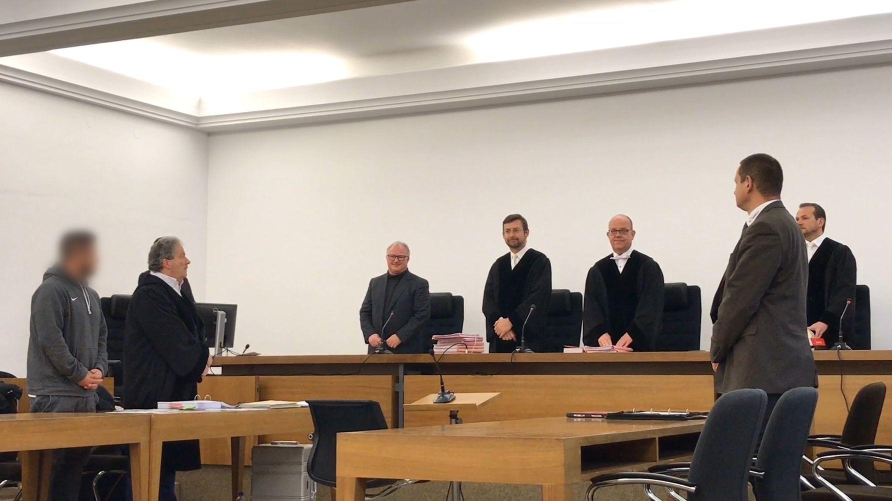 Gerichtssaal im Landgericht Kempten