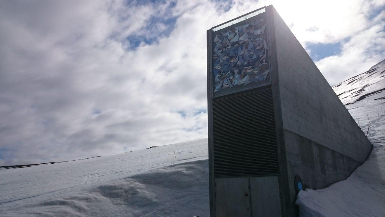Svalbard Global Seed Vault (weltweiter Samen-Tresor) Spitzbergen