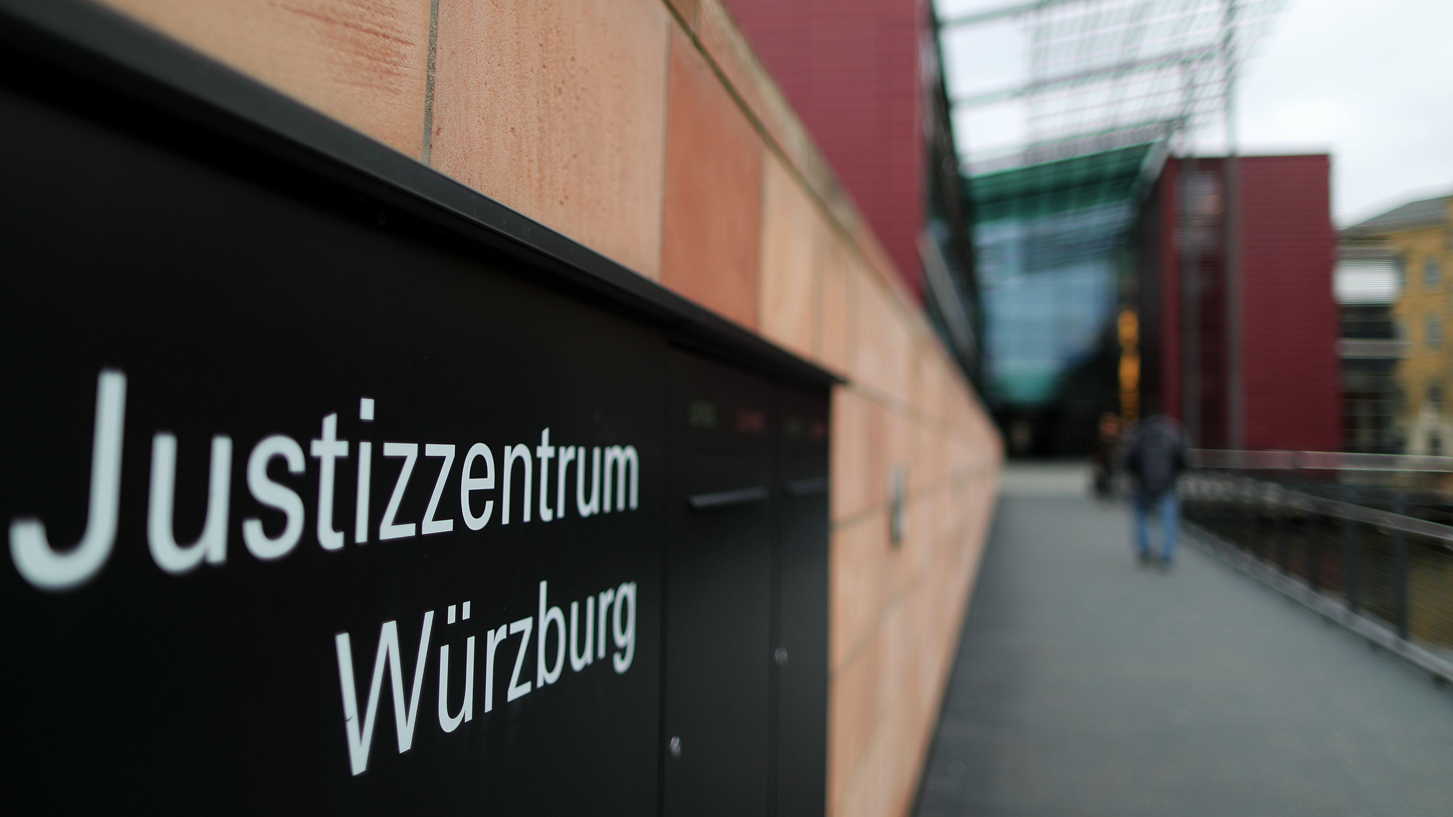 Das Amtsgericht in Würzburg (Symbolbild)