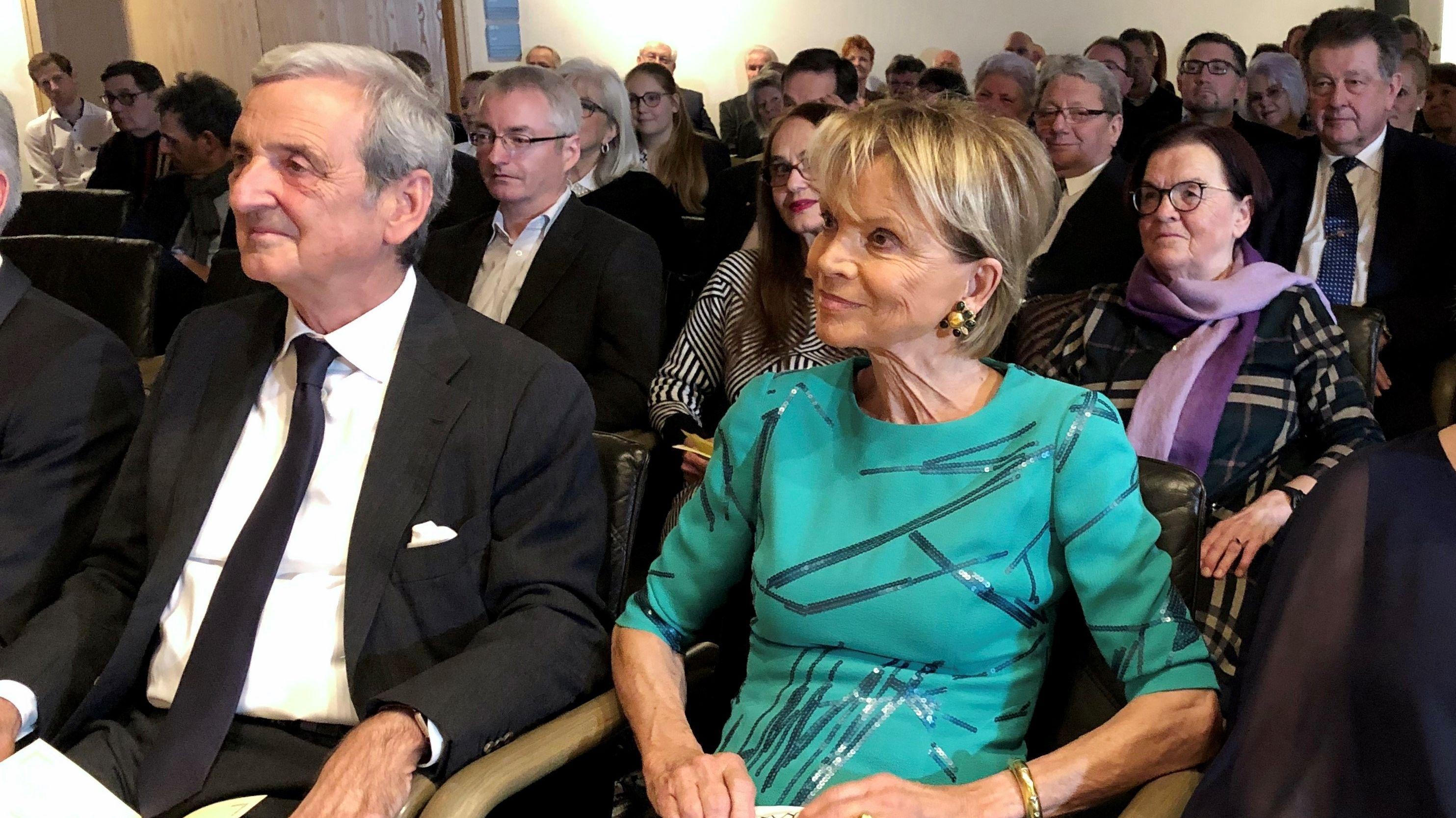 Uschi Glas mit Ehemann Dieter Hermann