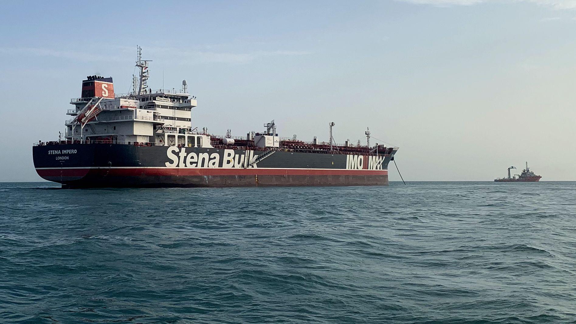 Der vom Iran festgesetzte unter britischer Flagge fahrendeTanker Stena Impero