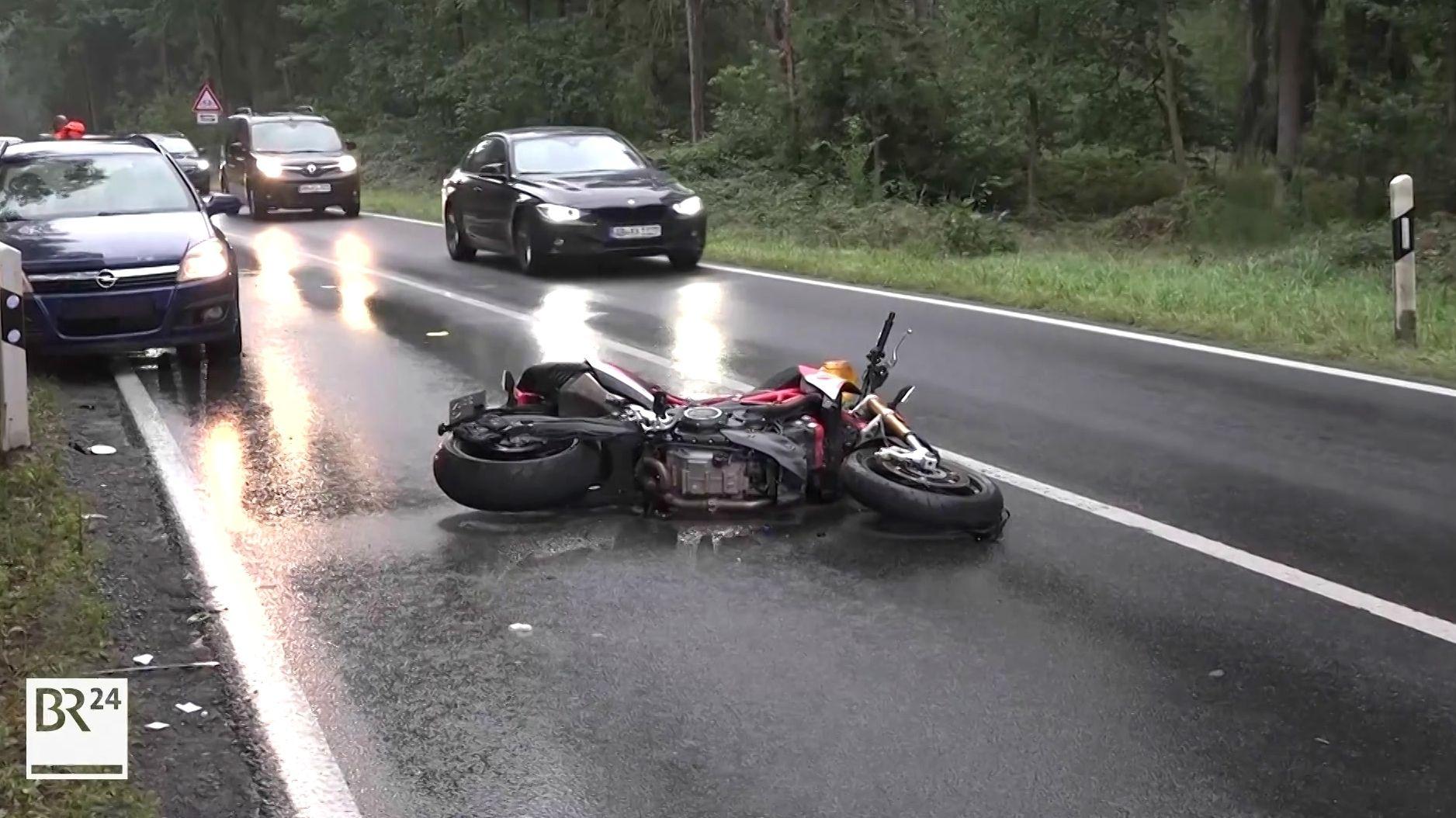 Motorradunfall in Ringheim